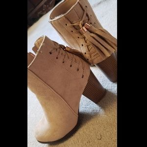 New Booties with embellishments